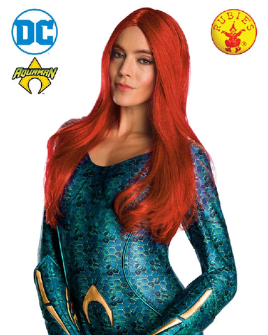 Aquaman Mera Red Adult Wig - Salsa and Gigi Australia 38247