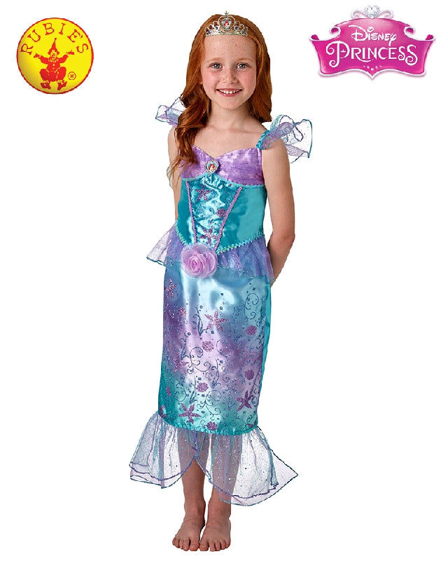 Ariel Rainbow Deluxe Mermaid Girls Costume - Salsa and Gigi