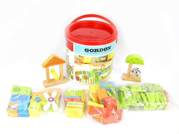 Wooden Frog Dominos 100 Pieces - Salsa and Gigi Online Store