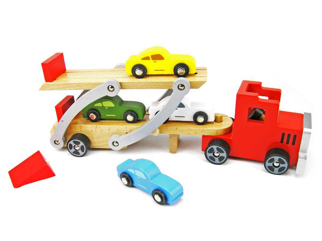 Red Car Carrier Truck  - Salsa and Gigi Online Store