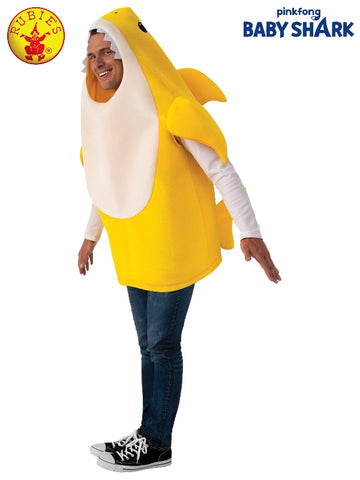Baby Shark Yellow Adult Costume - Salsa and Gigi Australia 701706 01