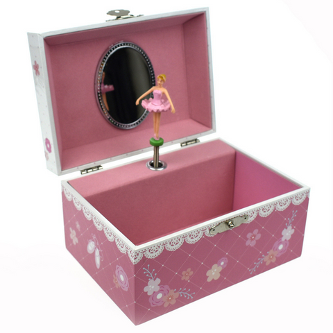 Ballerina Keepsake Music Box - Salsa and Gigi