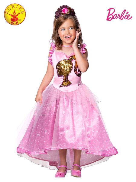 Barbie Princess Pink Deluxe Girls Costume - Salsa and Gigi Australia 701342
