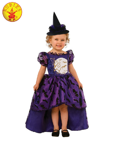 Bat Witch Deluxe Purple Girls Costume - Size T, S, M - Salsa and Gigi