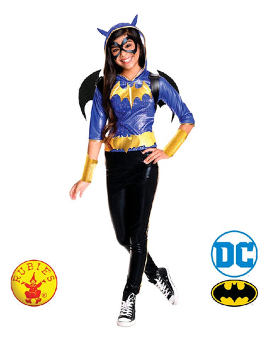 Batgirl DC Superhero Deluxe Girls Costume - Size S, M, L - Salsa and Gigi