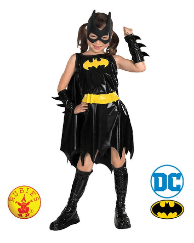 Batgirl Deluxe Girls Costume - Size S, M, L - Salsa and Gigi