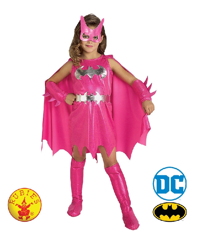 Pink Batgirl Girls Toddler Child Costume - Size T, S, M