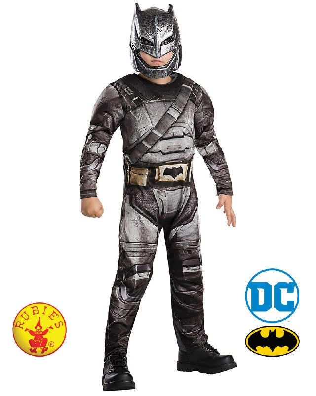 Batman Armour Deluxe Boys Costume - Tween 9-10 years - Salsa and Gigi