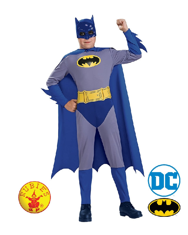 Batman Boys Classic DC Superhero Costume - Size S, M, L - Salsa and Gigi