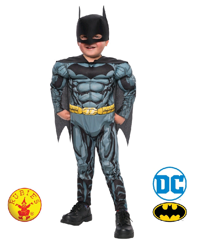 Batman Muscle Chest Toddler Costume - Size T - Salsa and Gigi