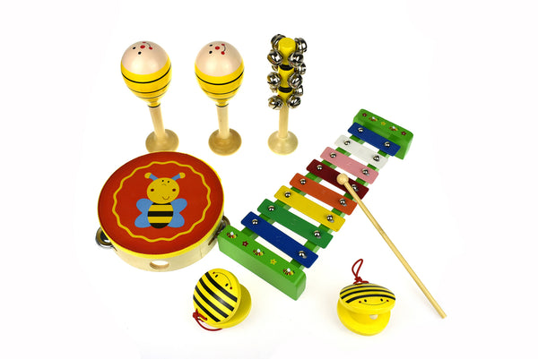 Bee 7 Piece Music Set - Salsa and Gigi Australia MI079C 01