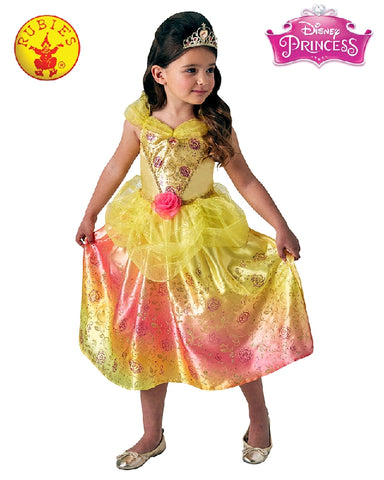 Disney Belle Rainbow Deluxe Girls Costume - Size S, M - Salsa and Gigi