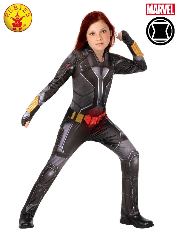 Black Widow Deluxe Girls Costume - Salsa and Gigi Australia 3967 01