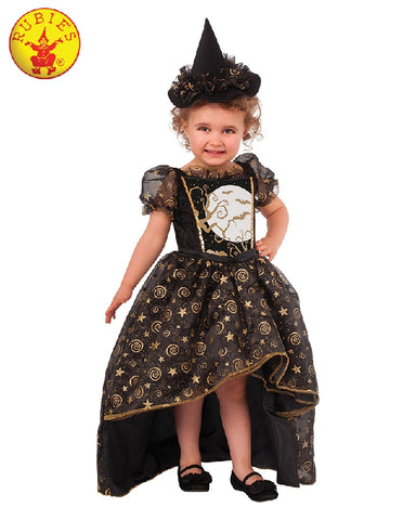 Black Bat Witch Deluxe Costume - Size T, S, M - Salsa and Gigi
