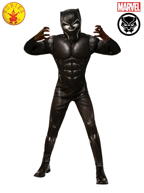 Black Panther Deluxe Teen Boys Costume - Salsa and Gigi Australia 701391