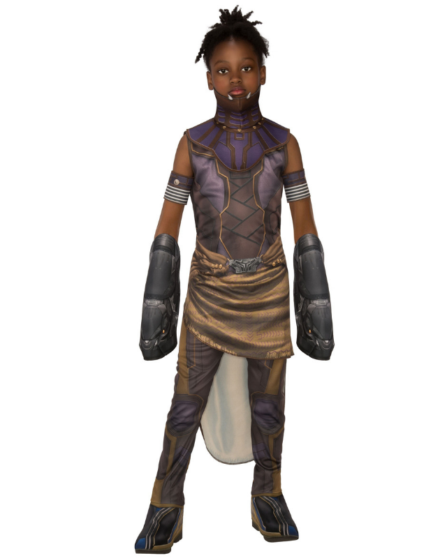 Black Panther Shuri Deluxe Child Costume - Sizes S, M, L - Salsa and Gigi