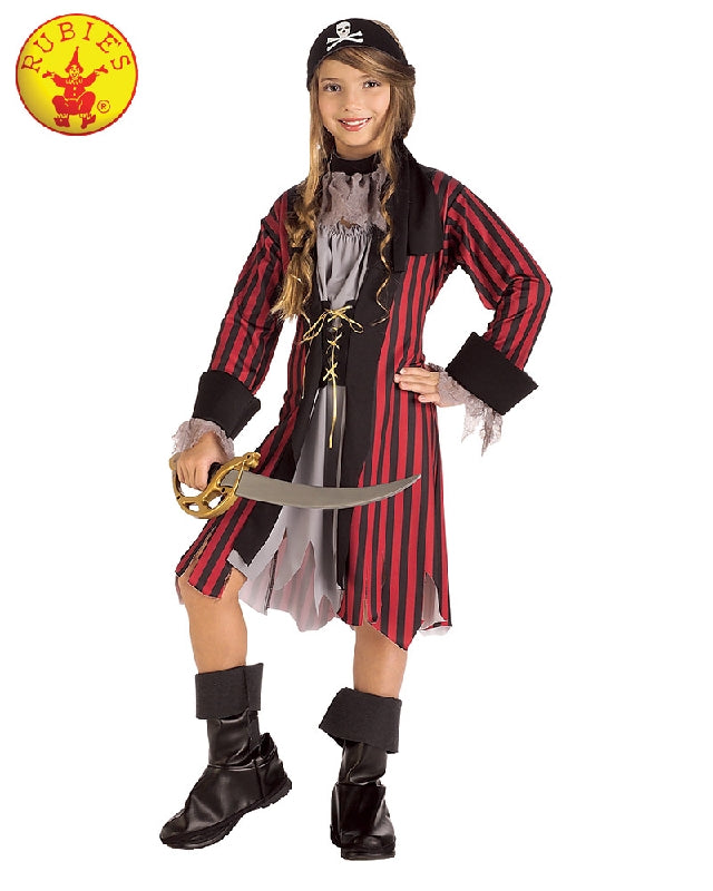 Caribbean Princess Pirate Girls Costume - Sizes S, M - Salsa and Gigi