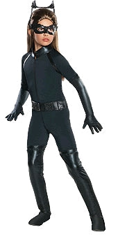 Catwoman DC Superhero Deluxe Girls Costume - Sizes S, M, L - Salsa and Gigi