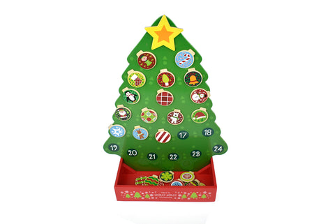 Christmas Wooden Advent Calendar - Salsa and Gigi