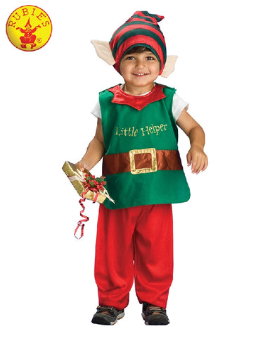 Christmas Elf Child Costume - Sizes T, S - Salsa and Gigi