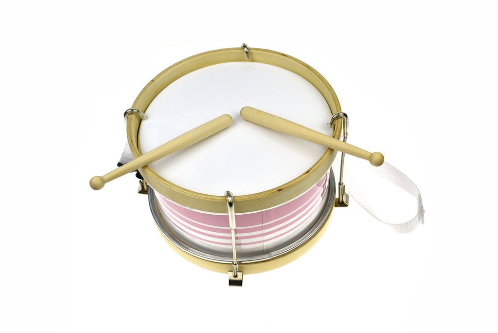 Classic Calm Toddler Marching Drum Lily Pink - Salsa and Gigi Australia MI132C 01
