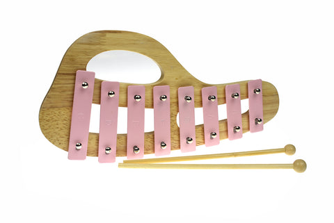 Classic Calm Wooden Xylophone Lily Pink - Salsa and Gigi Australia MI131C 01
