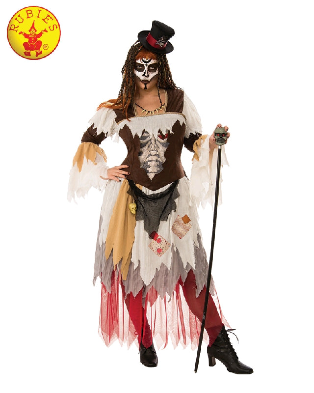 Conjure Voodoo Woman Costume - Adult PLUS Size - Salsa and Gigi