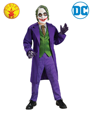 DC Comics The Joker Deluxe Boys Costume - Size S, M, L - Salsa and Gigi