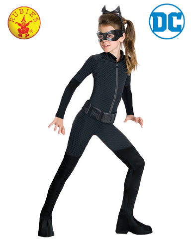 Catwoman DC Superhero Classic Girls Costume - Sizes S, M, L - Salsa and Gigi