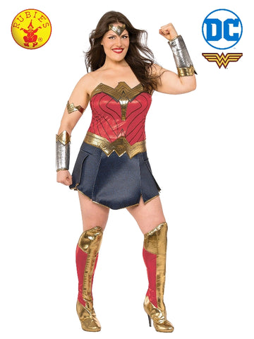 DC Superhero Wonder Woman Deluxe Plus Size Ladies Costume - Salsa and Gigi Australia 820655