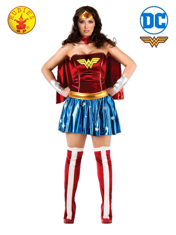 DC Superhero Wonder Woman Ladies PLUS Size Costume - Salsa and Gigi Australia 17440 01