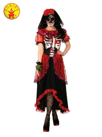 Day of the Dead Ladies Halloween Costume - Salsa and Gigi Australia 700873