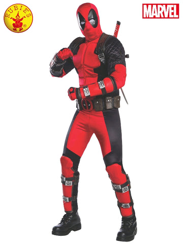 Deadpool Collector's Edition Adult Costume - Salsa and Gigi Australia 811000