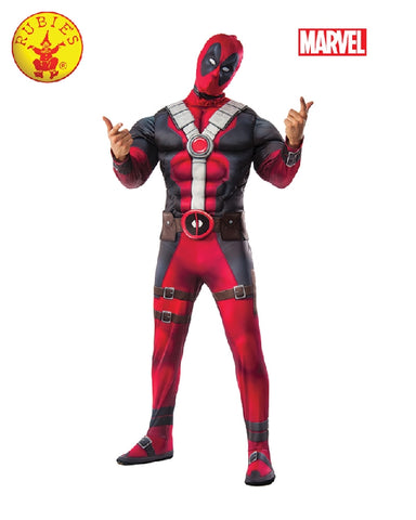 DEADPOOL Movie Deluxe Adult Costume - Size Std, XL - Salsa and Gigi