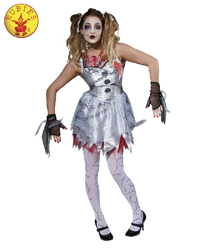 Deathly Doll Ladies Costume - Adult Sizes S, M, L - Salsa and Gigi