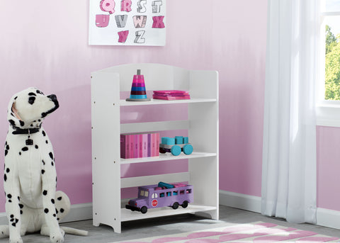 Delta Children MySize Kids Toddler Bookshelf - Bianca White - Salsa and Gigi Australia