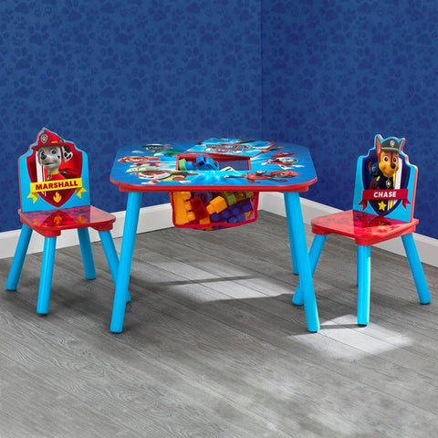 Delta Children Paw Patrol Storage Table and Chair Set - Salsa and Gigi Australia
