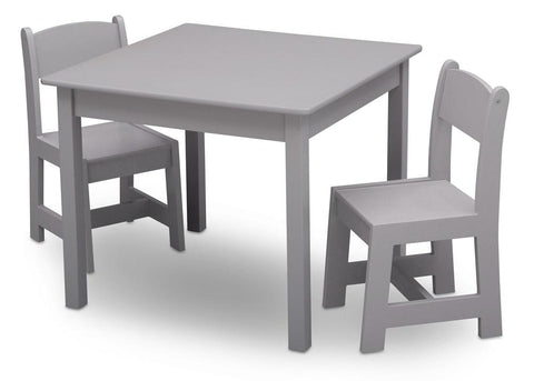 Delta Children Kids MySize Table and Chair Set - Grey - Salsa and Gigi Australia