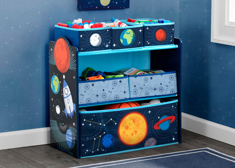 Delta Children Space Adventures Toy Organiser - salsaandgigi.com.au
