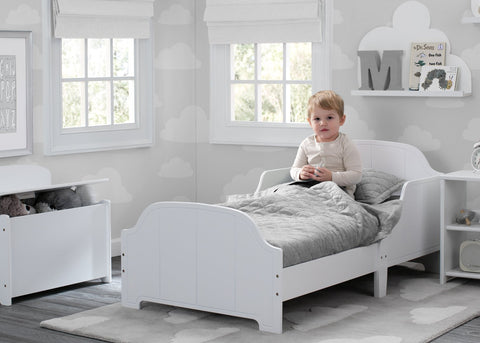 Delta MySize Toddler Bed - White Edged - Salsa and Gigi Australia 01