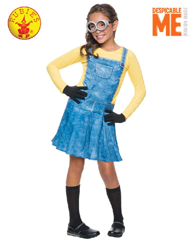 Despicable Me Female Minion Girls Costume - Size S - Salsa and Gigi