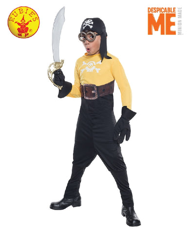 Despicable Me Minion Pirate Costume - Sizes S, M, L - Salsa and Gigi
