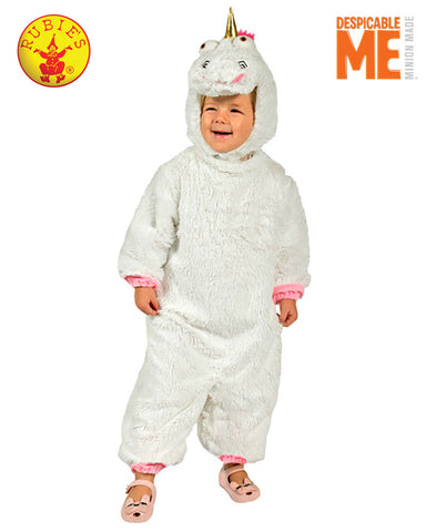 Despicable Me White Unicorn Fluffy Costume - Toddler - Salsa and Gigi