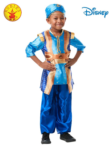 Disney Aladdin Genie Live Action Deluxe Child Costume - Salsa and Gigi Australia 300313
