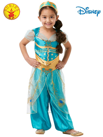 Disney Aladdin Princess Jasmine Live Action Child Costume - Salsa and Gigi Australia 9996
