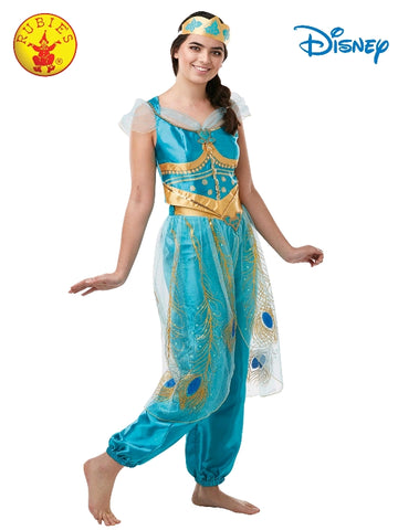 Disney Aladdin Princess Jasmine Live Action Deluxe Ladies Costume - Salsa and Gigi Australia 300303