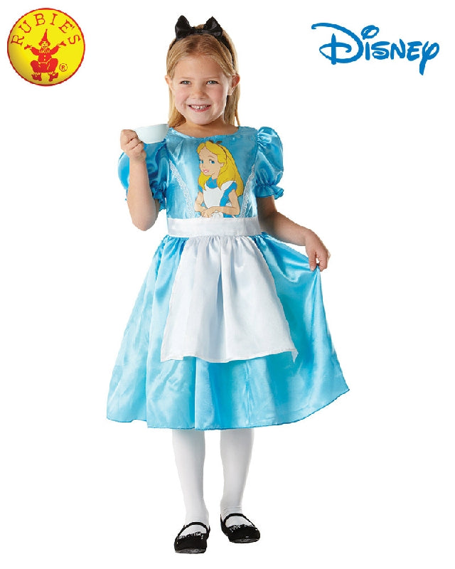 Disney Alice in Wonderland Classic Girls Costume - Salsa and Gigi