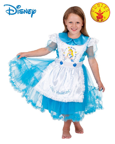 Disney Alice in Wonderland Deluxe Girls Costume - 4-6 years - Salsa and Gigi