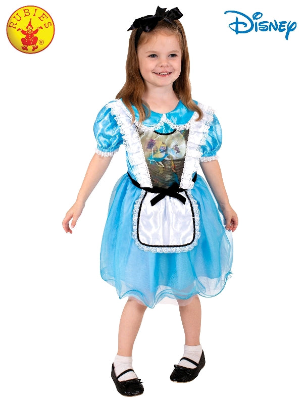 Disney Alice In Wonderland Lenticular Girls Costume Book Week