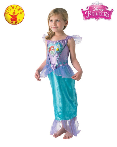 Disney Ariel Loveheart Girls Costume - Sizes S, M - Salsa and Gigi